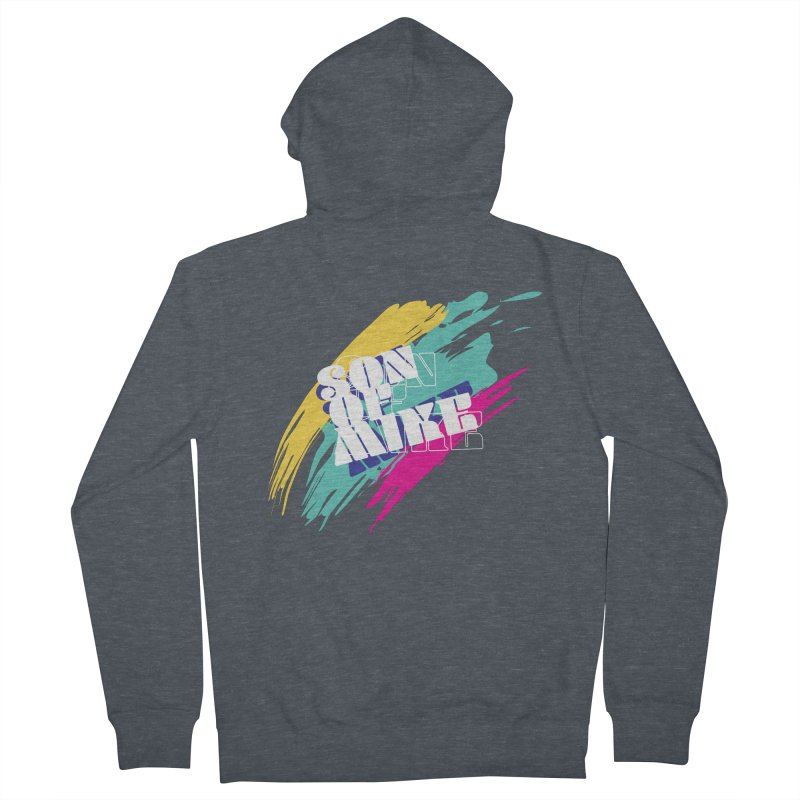 "Son of Mike ""Paint"" Men's French Terry Zip-Up Hoody by Turkeylegsray's Artist Shop"
