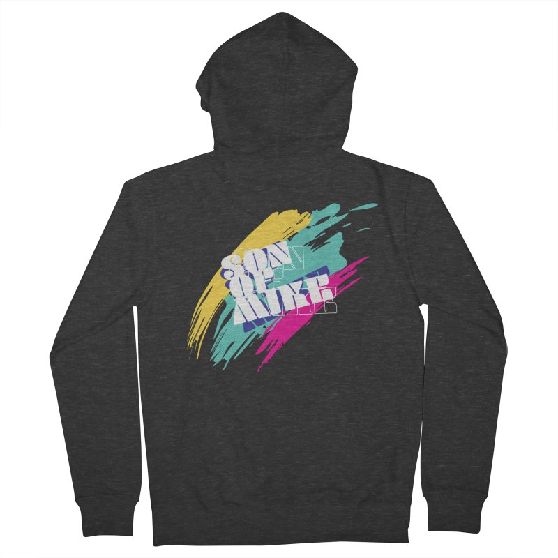 """Son of Mike """"Paint"""" Men's French Terry Zip-Up Hoody by Turkeylegsray's Artist Shop"""