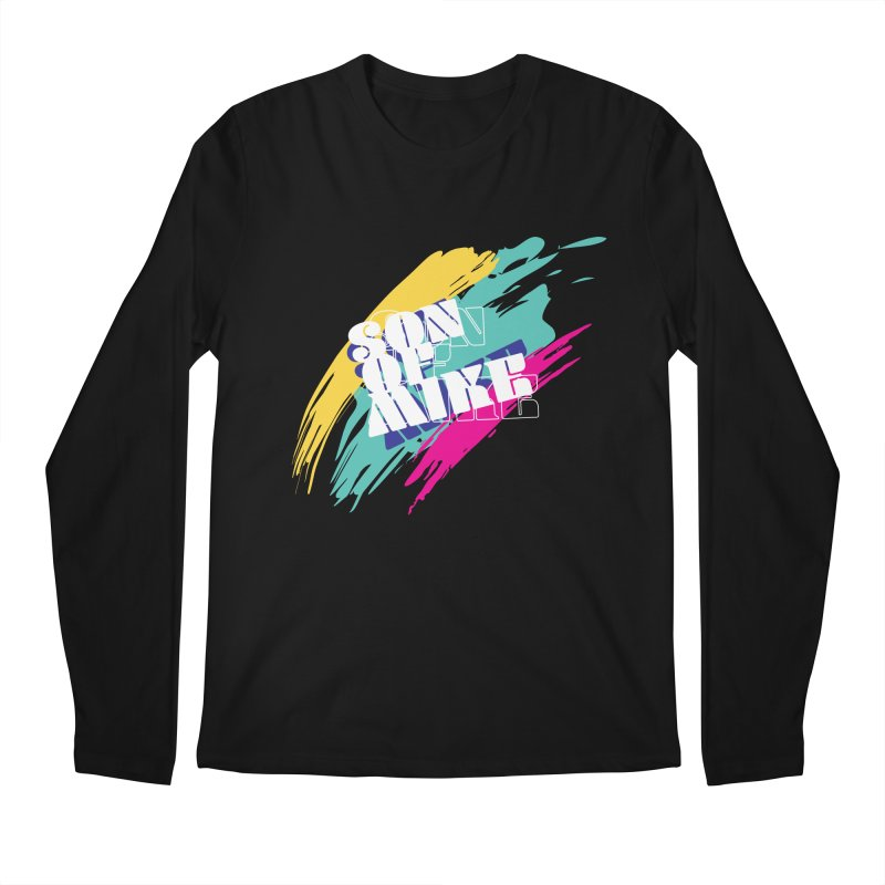 "Son of Mike ""Paint"" Men's Regular Longsleeve T-Shirt by Turkeylegsray's Artist Shop"