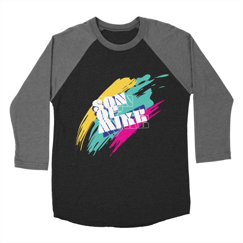 "Son of Mike ""Paint"" Women's Baseball Triblend Longsleeve T-Shirt by Turkeylegsray's Artist Shop"
