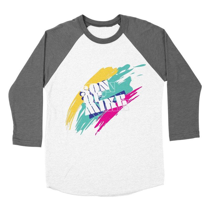 "Son of Mike ""Paint"" Men's Baseball Triblend Longsleeve T-Shirt by Turkeylegsray's Artist Shop"