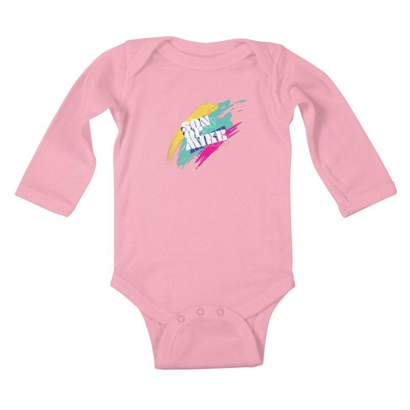"Son of Mike ""Paint"" Kids Baby Longsleeve Bodysuit by Turkeylegsray's Artist Shop"