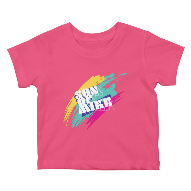 """Son of Mike """"Paint"""" Kids Baby T-Shirt by Turkeylegsray's Artist Shop"""