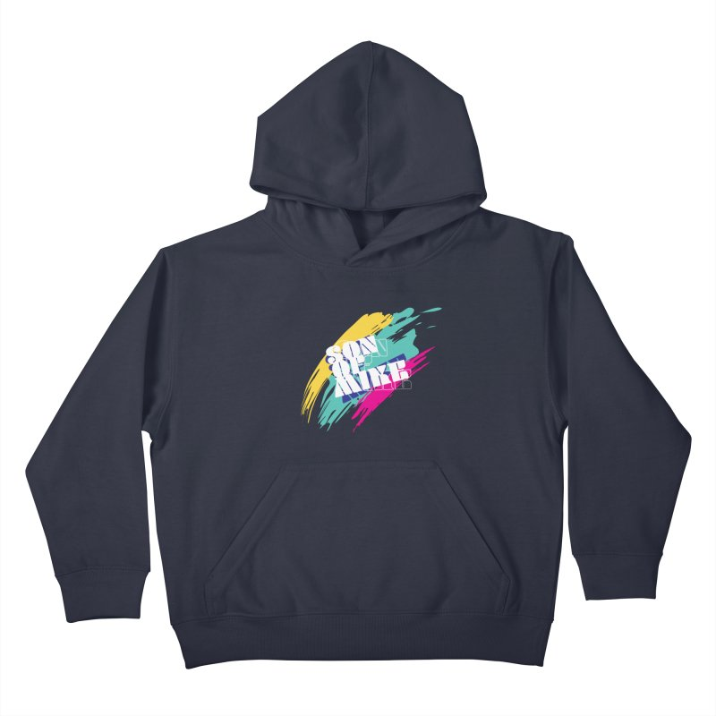 """Son of Mike """"Paint"""" Kids Pullover Hoody by Turkeylegsray's Artist Shop"""