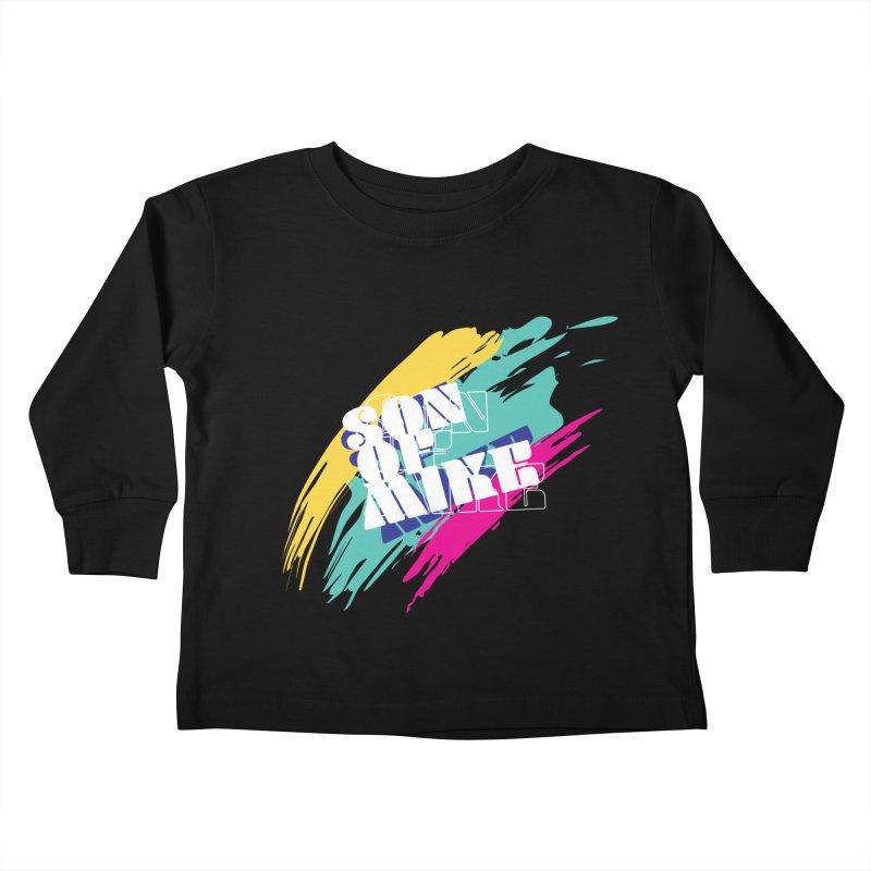 "Son of Mike ""Paint"" Kids Toddler Longsleeve T-Shirt by Turkeylegsray's Artist Shop"
