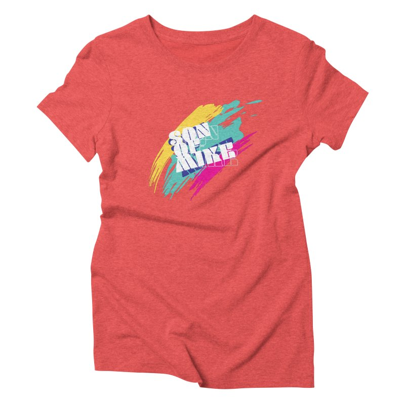 """Son of Mike """"Paint"""" Women's Triblend T-Shirt by Turkeylegsray's Artist Shop"""