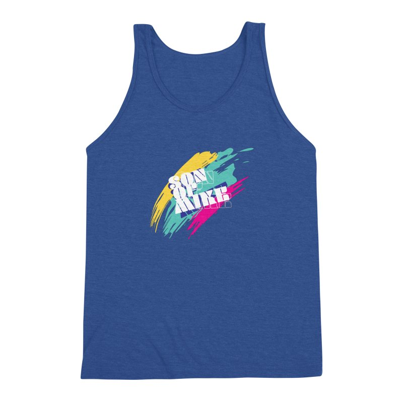 "Son of Mike ""Paint"" Men's Triblend Tank by Turkeylegsray's Artist Shop"