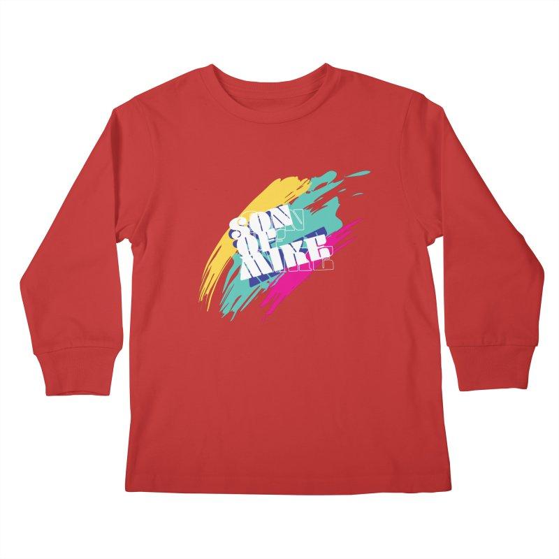 "Son of Mike ""Paint"" Kids Longsleeve T-Shirt by Turkeylegsray's Artist Shop"