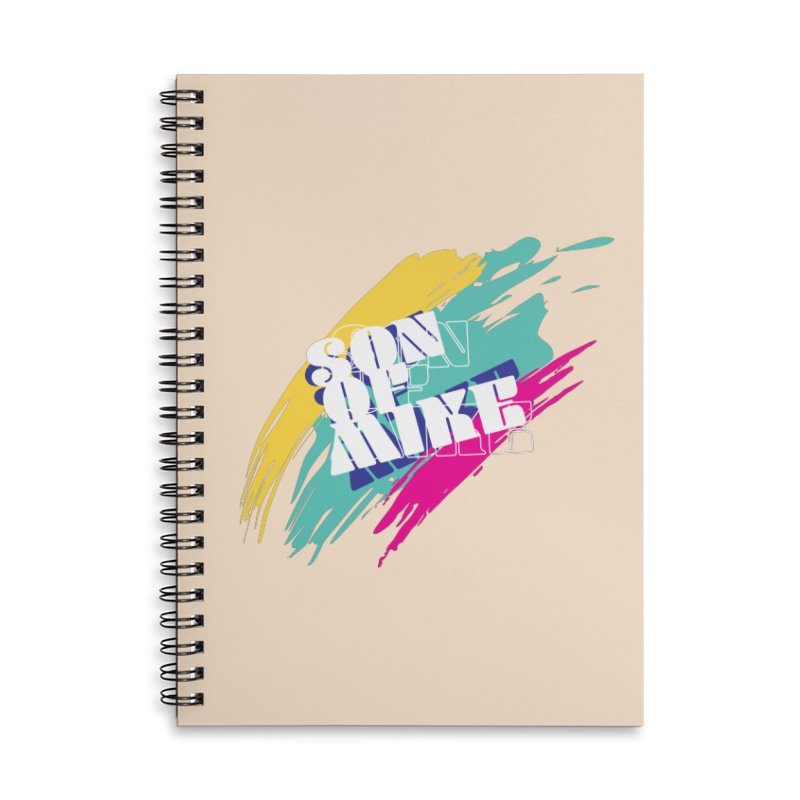 """Son of Mike """"Paint"""" Accessories Lined Spiral Notebook by Turkeylegsray's Artist Shop"""