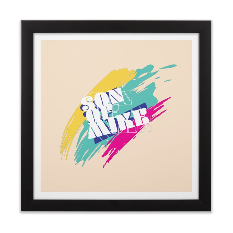 """Son of Mike """"Paint"""" Home Framed Fine Art Print by Turkeylegsray's Artist Shop"""