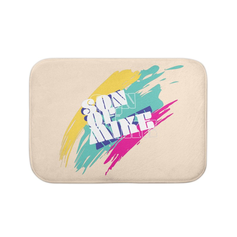 """Son of Mike """"Paint"""" Home Bath Mat by Turkeylegsray's Artist Shop"""