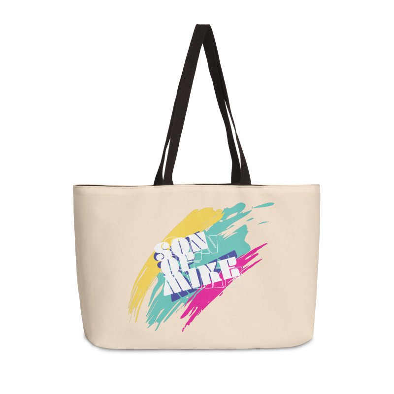 "Son of Mike ""Paint"" Accessories Weekender Bag Bag by Turkeylegsray's Artist Shop"