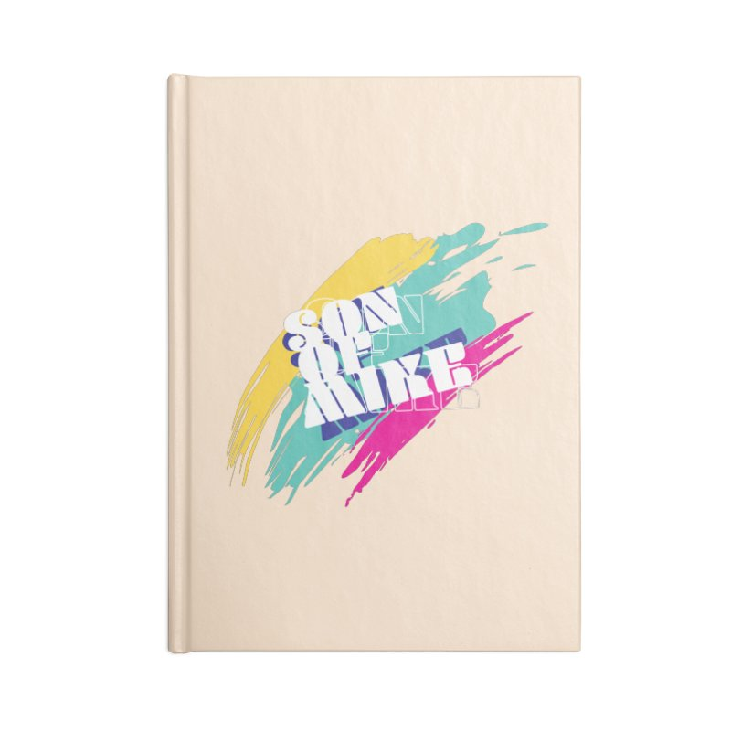 "Son of Mike ""Paint"" Accessories Lined Journal Notebook by Turkeylegsray's Artist Shop"