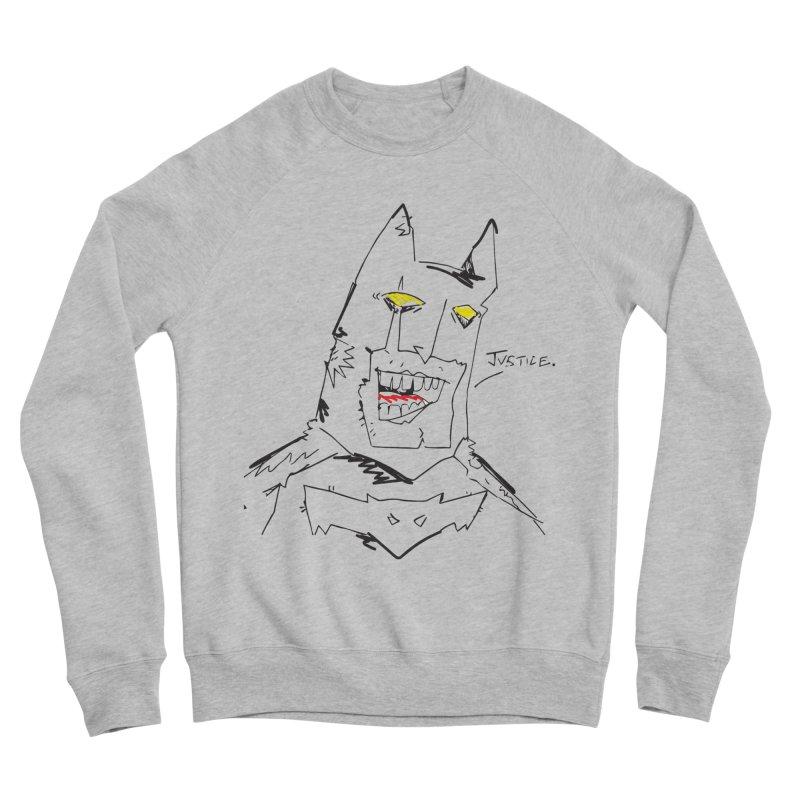 JUSTICE. Men's Sponge Fleece Sweatshirt by Turkeylegsray's Artist Shop