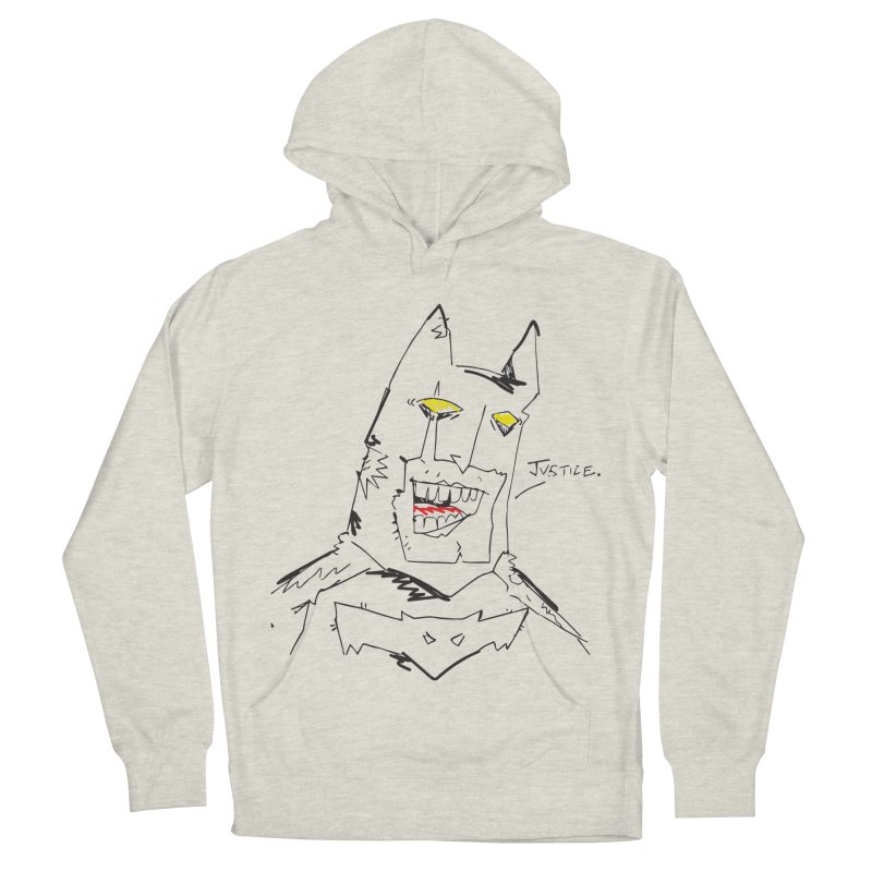 JUSTICE. Women's French Terry Pullover Hoody by Turkeylegsray's Artist Shop