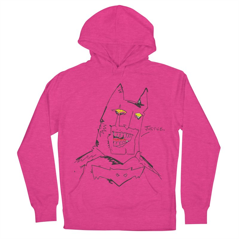 JUSTICE. Men's French Terry Pullover Hoody by Turkeylegsray's Artist Shop