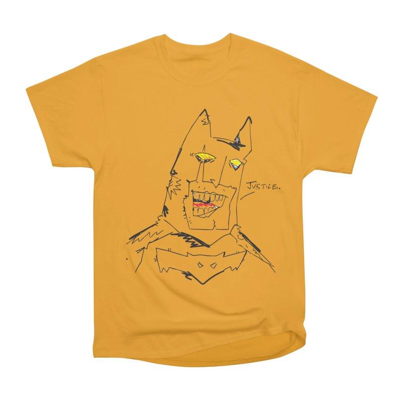 JUSTICE. Men's Heavyweight T-Shirt by Turkeylegsray's Artist Shop