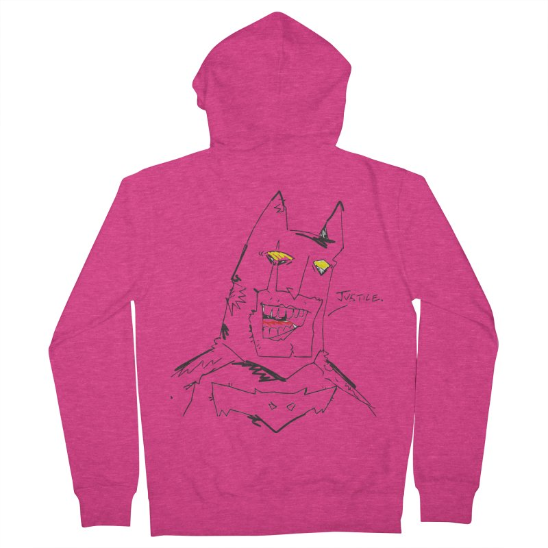 JUSTICE. Women's French Terry Zip-Up Hoody by Turkeylegsray's Artist Shop