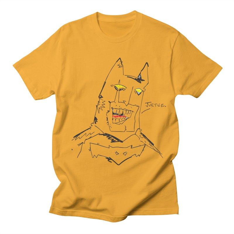 JUSTICE. Men's Regular T-Shirt by Turkeylegsray's Artist Shop