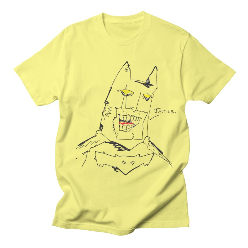 JUSTICE. Women's Regular Unisex T-Shirt by Turkeylegsray's Artist Shop