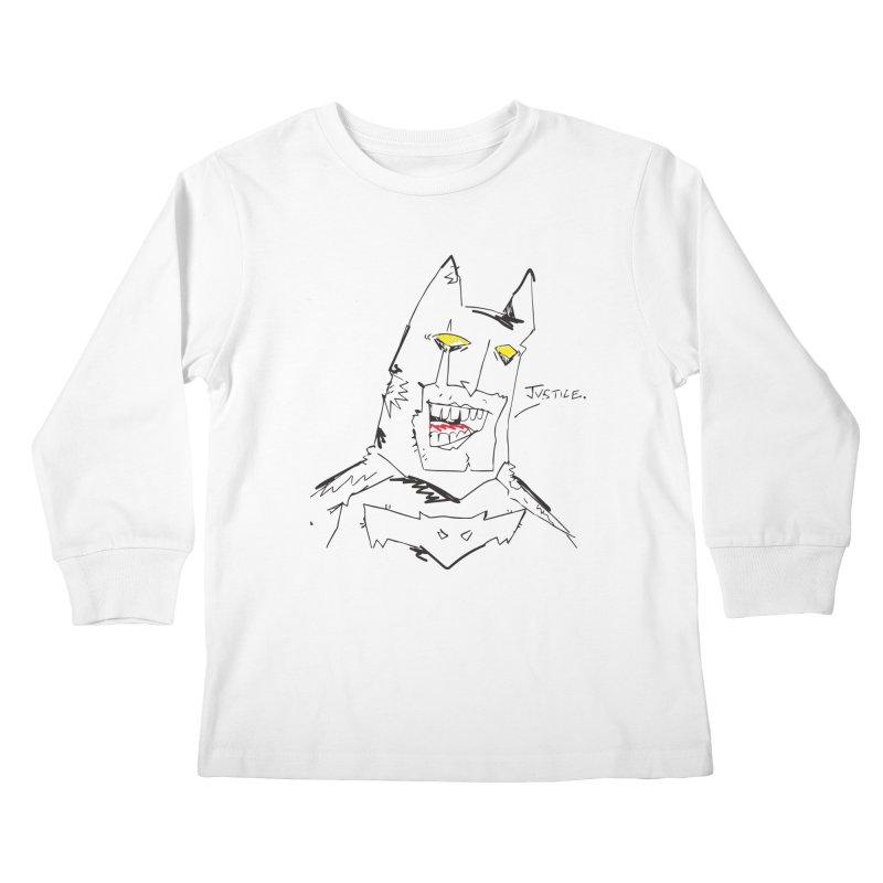 JUSTICE. Kids Longsleeve T-Shirt by Turkeylegsray's Artist Shop