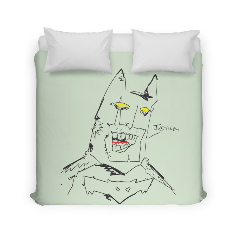 JUSTICE. Home Duvet by Turkeylegsray's Artist Shop