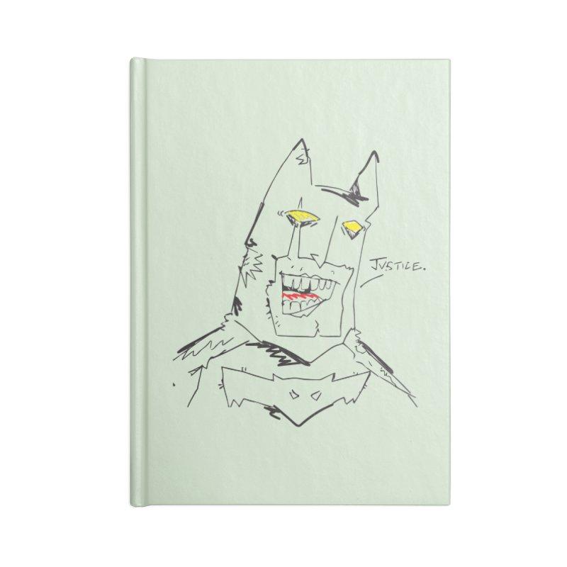 JUSTICE. Accessories Blank Journal Notebook by Turkeylegsray's Artist Shop