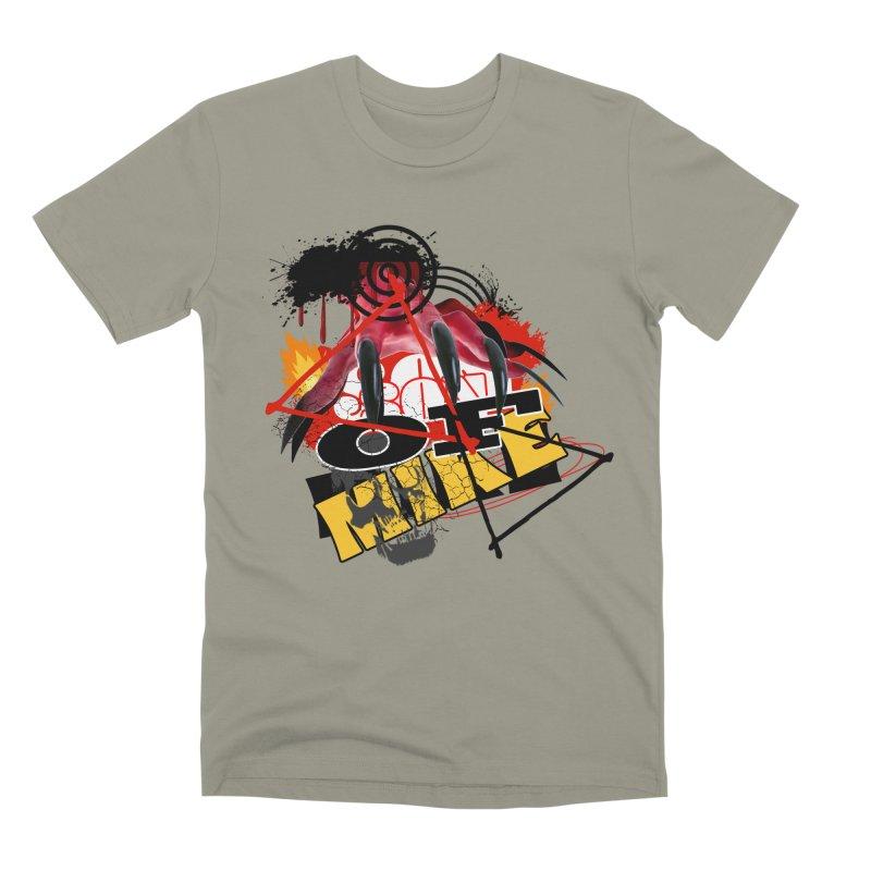 "SON OF MIKE ""Flames"" Men's Premium T-Shirt by Turkeylegsray's Artist Shop"