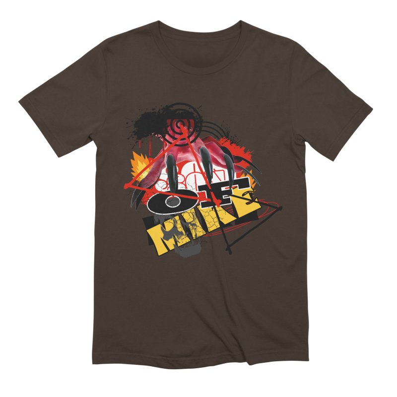 """SON OF MIKE """"Flames"""" Men's Extra Soft T-Shirt by Turkeylegsray's Artist Shop"""