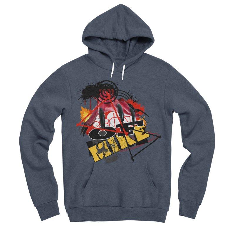"""SON OF MIKE """"Flames"""" Men's Sponge Fleece Pullover Hoody by Turkeylegsray's Artist Shop"""