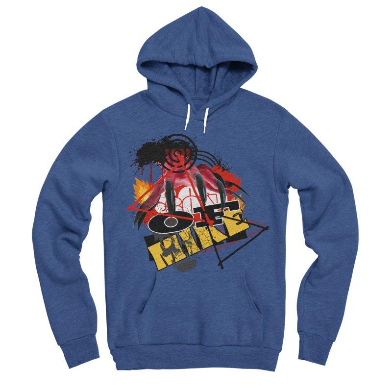 """SON OF MIKE """"Flames"""" Women's Sponge Fleece Pullover Hoody by Turkeylegsray's Artist Shop"""