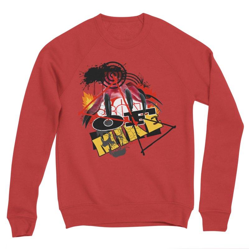 """SON OF MIKE """"Flames"""" Men's Sponge Fleece Sweatshirt by Turkeylegsray's Artist Shop"""
