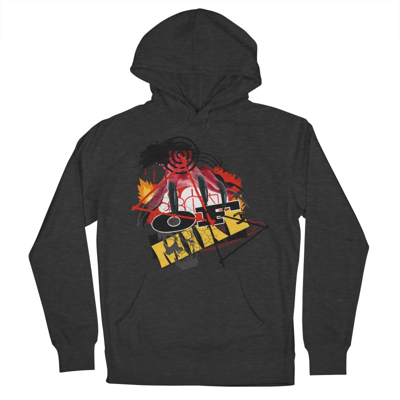 """SON OF MIKE """"Flames"""" Men's French Terry Pullover Hoody by Turkeylegsray's Artist Shop"""