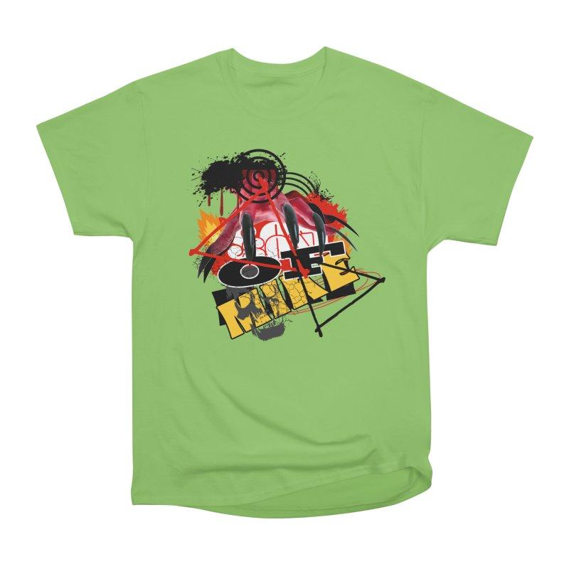 "SON OF MIKE ""Flames"" Men's Heavyweight T-Shirt by Turkeylegsray's Artist Shop"
