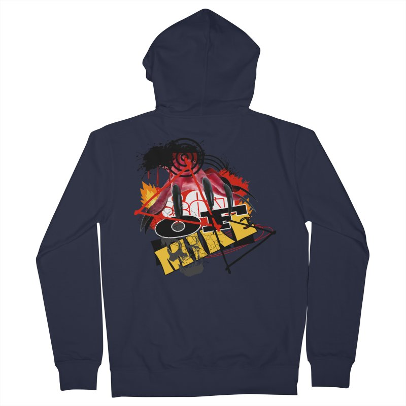 """SON OF MIKE """"Flames"""" Men's French Terry Zip-Up Hoody by Turkeylegsray's Artist Shop"""
