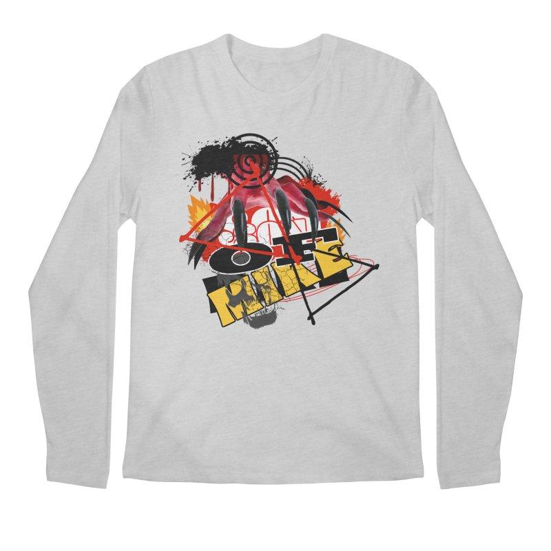 "SON OF MIKE ""Flames"" Men's Regular Longsleeve T-Shirt by Turkeylegsray's Artist Shop"
