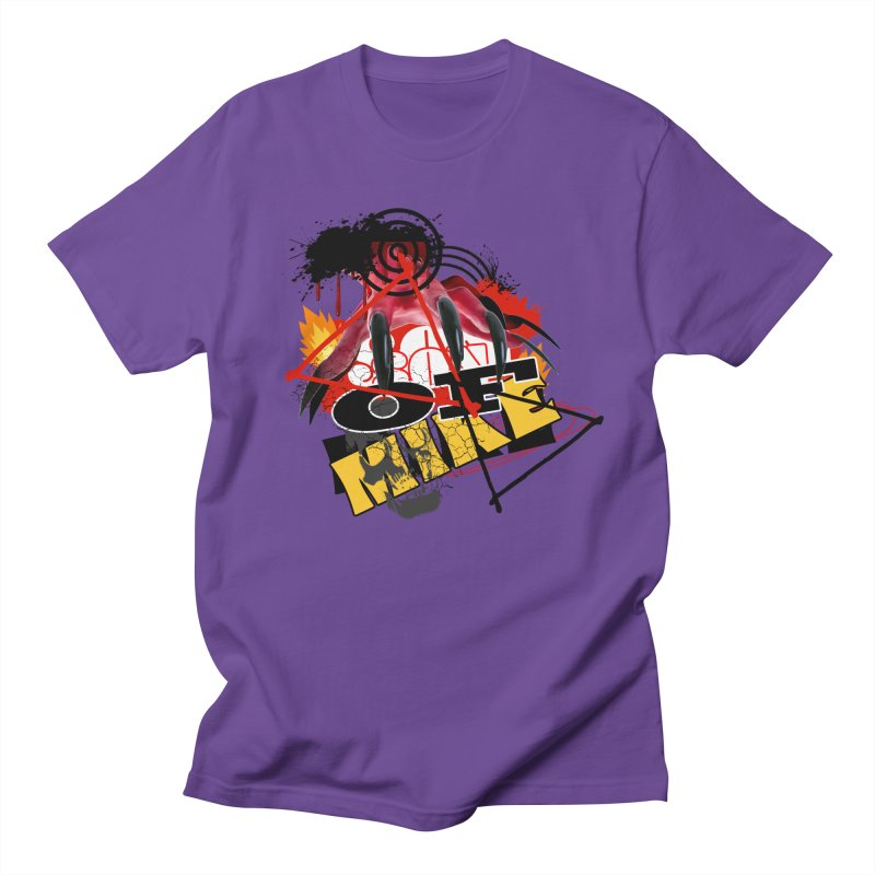 "SON OF MIKE ""Flames"" Men's Regular T-Shirt by Turkeylegsray's Artist Shop"