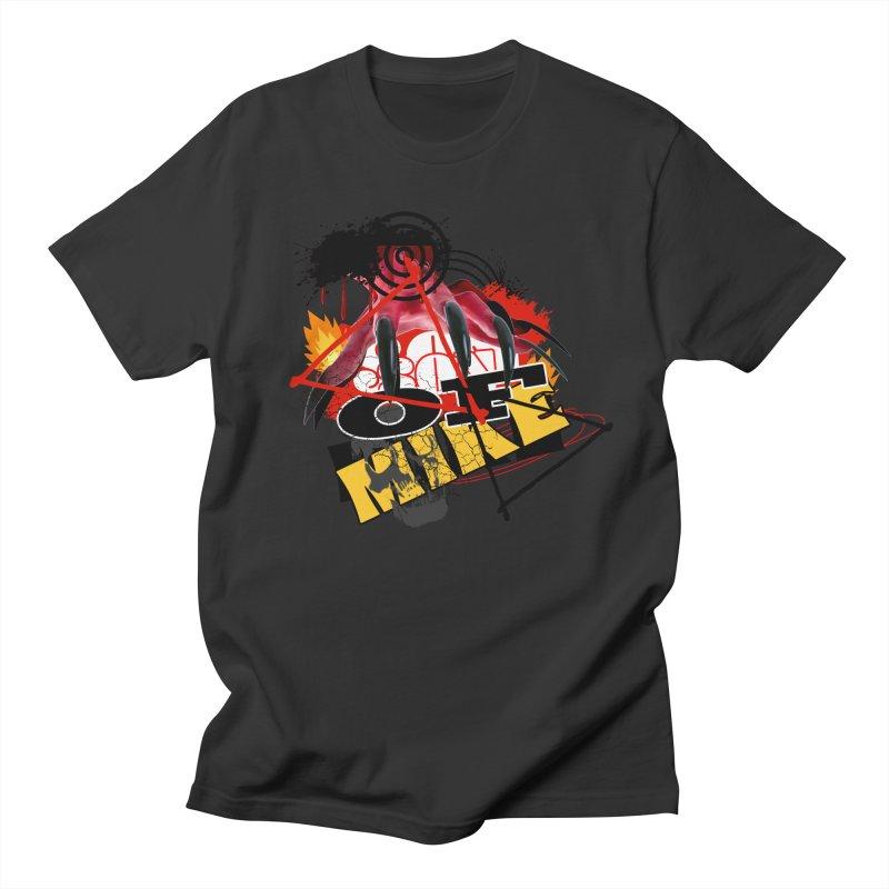 "SON OF MIKE ""Flames"" Women's Regular Unisex T-Shirt by Turkeylegsray's Artist Shop"