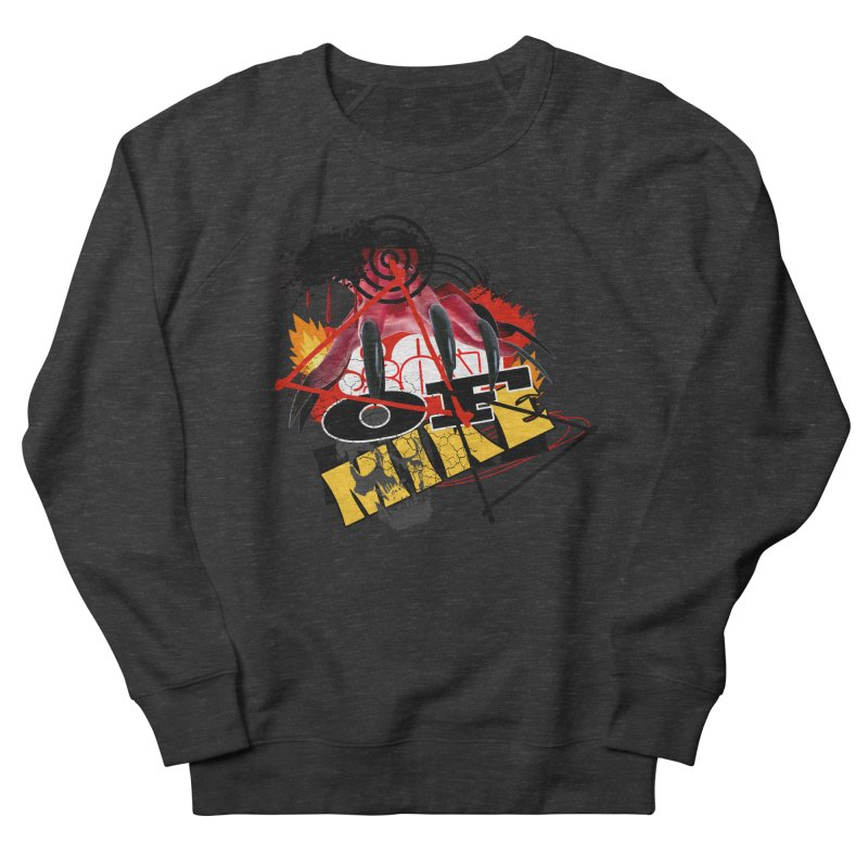 "SON OF MIKE ""Flames"" Women's French Terry Sweatshirt by Turkeylegsray's Artist Shop"