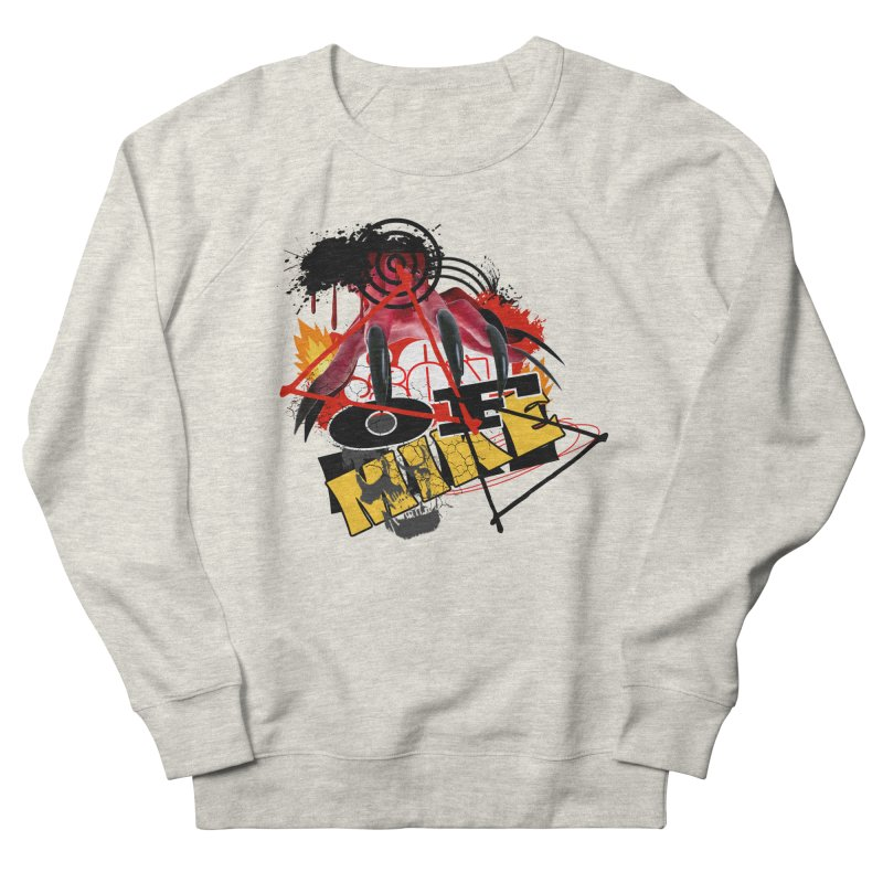 """SON OF MIKE """"Flames"""" Men's French Terry Sweatshirt by Turkeylegsray's Artist Shop"""