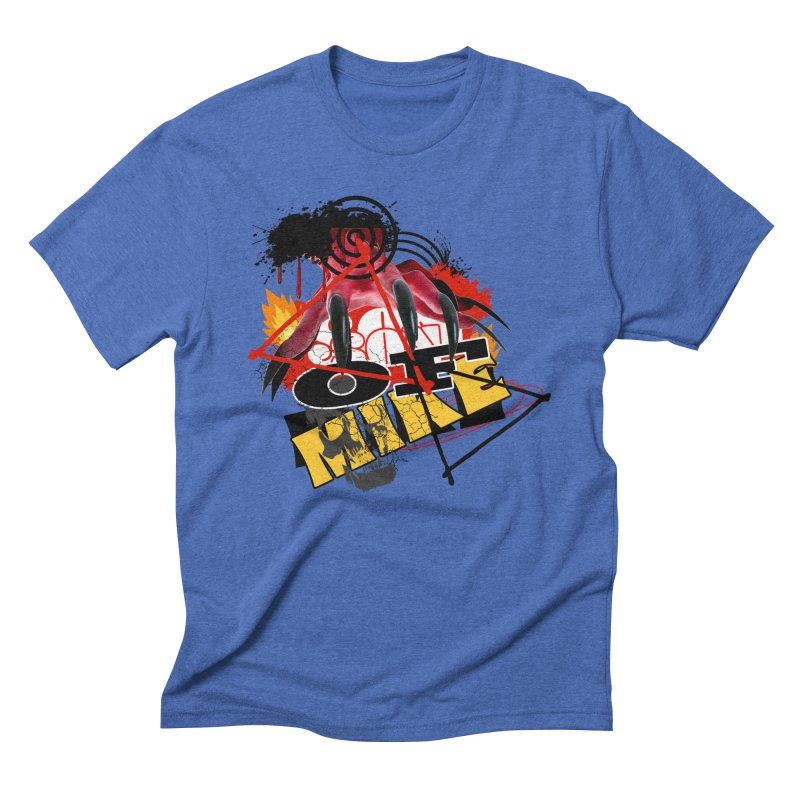 """SON OF MIKE """"Flames"""" Men's Triblend T-Shirt by Turkeylegsray's Artist Shop"""