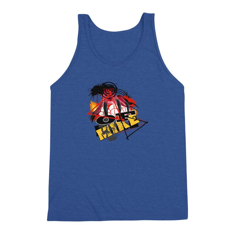 "SON OF MIKE ""Flames"" Men's Triblend Tank by Turkeylegsray's Artist Shop"
