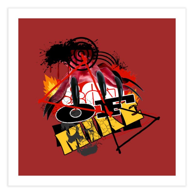 """SON OF MIKE """"Flames"""" Home Fine Art Print by Turkeylegsray's Artist Shop"""