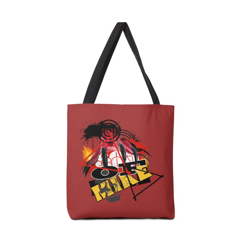"SON OF MIKE ""Flames"" Accessories Tote Bag Bag by Turkeylegsray's Artist Shop"