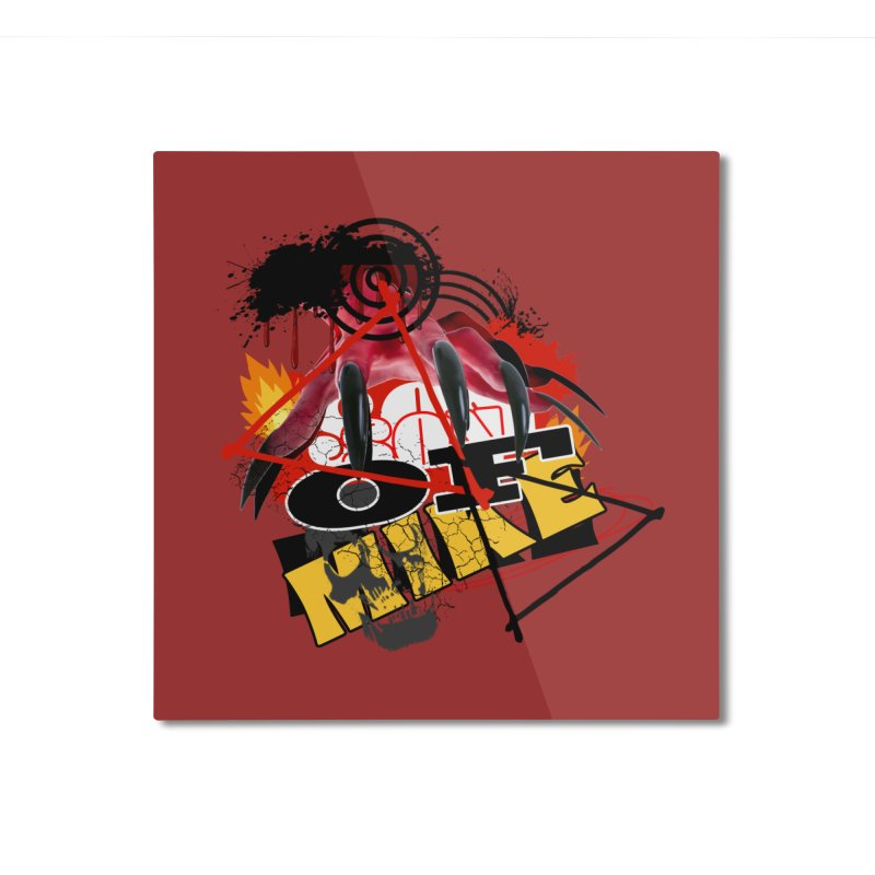 """SON OF MIKE """"Flames"""" Home Mounted Aluminum Print by Turkeylegsray's Artist Shop"""