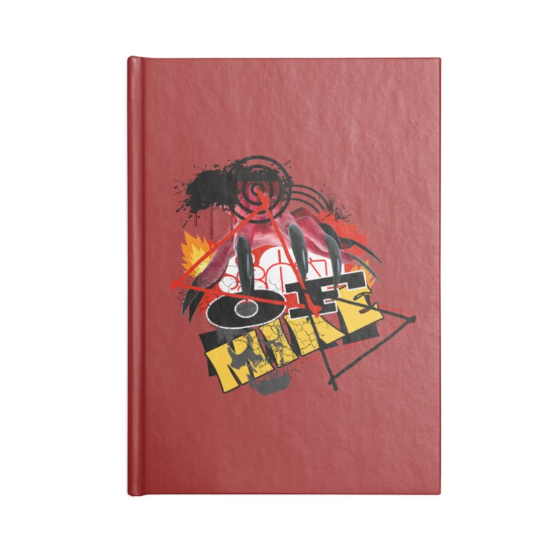 "SON OF MIKE ""Flames"" Accessories Lined Journal Notebook by Turkeylegsray's Artist Shop"