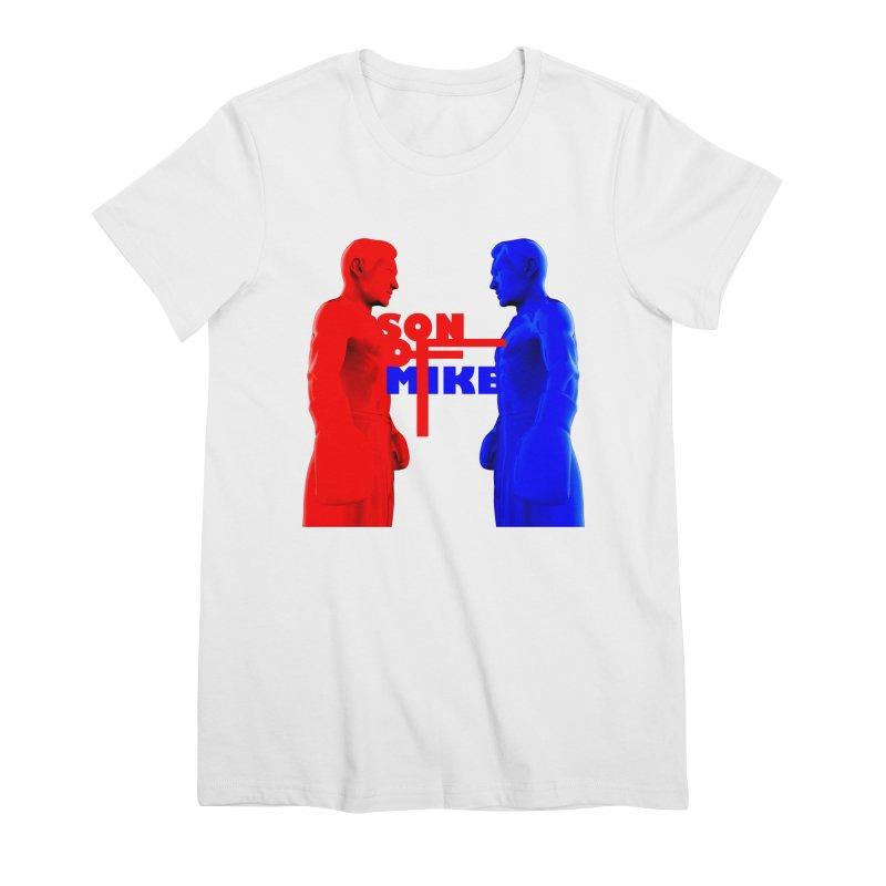 "SON OF MIKE ""Boxers"" Women's Premium T-Shirt by Turkeylegsray's Artist Shop"