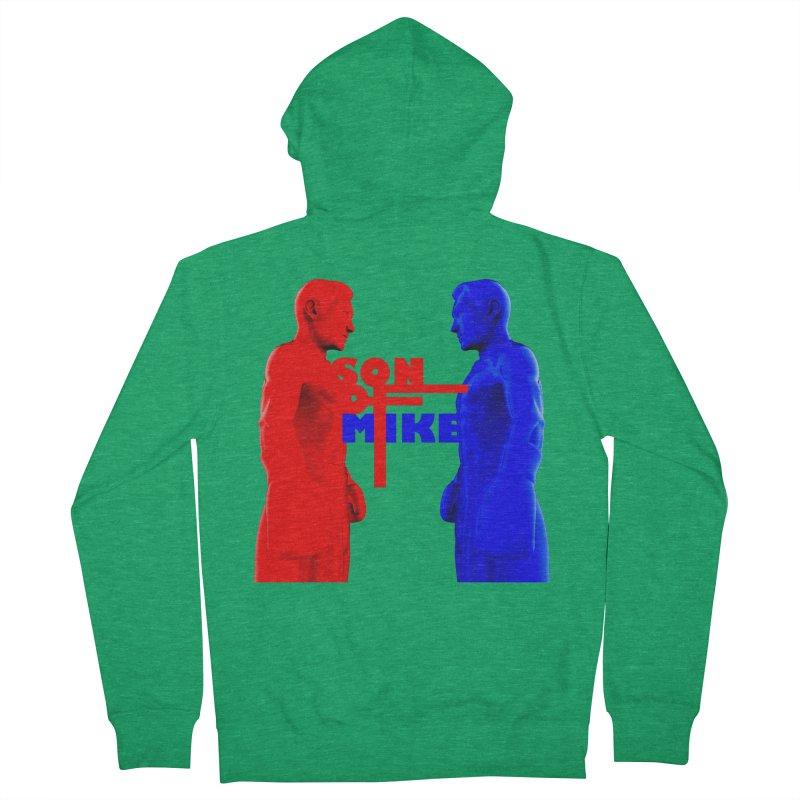 "SON OF MIKE ""Boxers"" Men's Zip-Up Hoody by Turkeylegsray's Artist Shop"