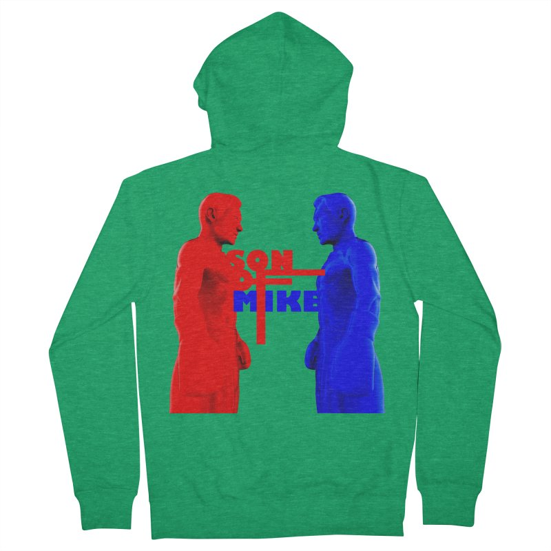 """SON OF MIKE """"Boxers"""" Men's French Terry Zip-Up Hoody by Turkeylegsray's Artist Shop"""