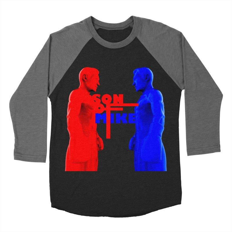 "SON OF MIKE ""Boxers"" Women's Baseball Triblend Longsleeve T-Shirt by Turkeylegsray's Artist Shop"